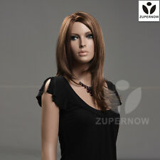 Mix color straight long women wigs female wigs fashion beauty hair