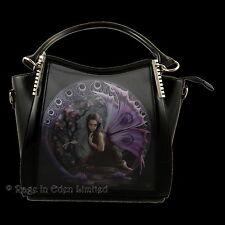 *NAIAD* 3D Lenticular Gothic Fairy Art PVC Shoulder / Handbag By Anne Stokes