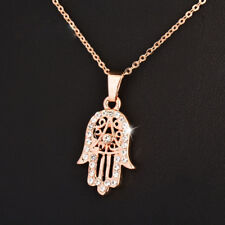 2018 Classic Hand of Fatima Hamsa Pendant Necklace Women Statement Jewelry
