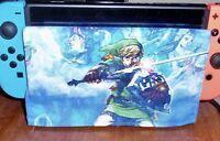 Nintendo Switch DOCK SOCK Screen Scratch Protector -Legend of Zelda LINK w/Sword