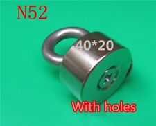 1pcs Silver Test Magnet NEW Neodymium N52 Check Metal Sterling Scrap 40mm × 20mm