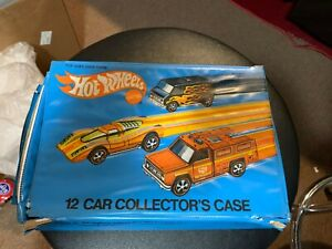 1975 HOT WHEELS 12 CAR RED LINE COLLECTOR'S CASE No. 4975 C1