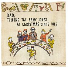 Dad Telling The Same Jokes Hysterical Heritage Christmas Card Funny Xmas Cards