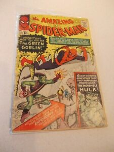 Amazing Spider-Man #14 1st appearance Green Goblin