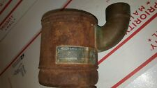 John Deere 1935 GP GPO oil bath aircleaner cup extremely rare  brass elbow 2597