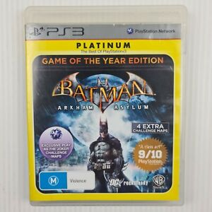 Batman Arkham Asylum - Game Of The Year Edition PS3 - PAL - TRACKED POST