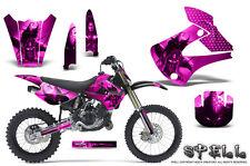 Kawasaki KX85 KX100 2001-2013 Graphics Kit CREATORX Decals SPELL P