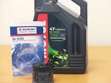 Motul Öl 5100 10W40  / Original  Ölfilter Suzuki GSR750 alle Modelle ab Bj 11
