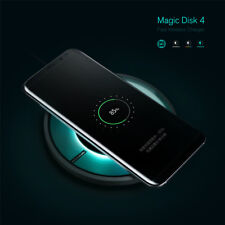 Nillkin Magic Disk 4 Qi Wireless Fast Charger Charging LED For iPhone 8/8 Plus/X