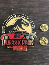 NASCAR Hat Pin Jeff Gordon Huge Jurassic Park Vintage Rare