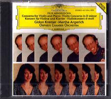 Gidon KREMER & Martha ARGERICH: MENDELSSOHN Concerto for Violin Piano ORPHEUS CD