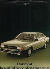 Brochure Depliant Audi 100 1976 8 pagine
