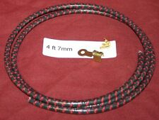 4 ft 7mm Black Plug Wire Ring End Hit & Miss Gas Engine