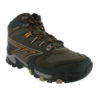 Hi-Tec Dakota Dark Brown Leather Waterproof Trekking Mens Boots UK7-13