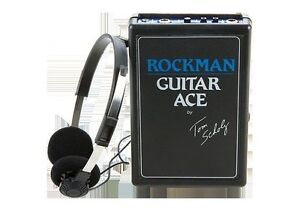NEW Rockman Tom Scholz Guitar Ace Headphone Amplifier & Stereo Headset Effects