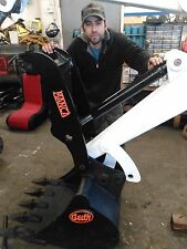 Bobcat mini excavator Manca hydraulic thumb ONLY! direct fit models 325-334