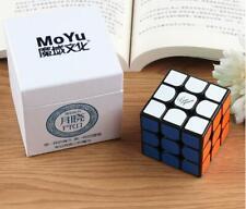 Moyu Guoguan Yuexiao Pro 3x3 Speed Cube 3x3x3 Magic Cube Puzzle Toy Black Gift