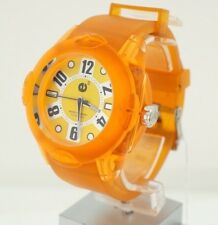 Tendence E3 Rainbow Orange 3H 5 atm 02013044 Rubber 5,2 mm Policarbonate Watch