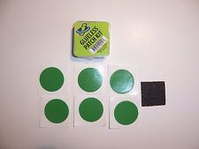 ONE KIT NEW Green Fresh Patches GENUINE INNOVATIONS Glueless Patchs Bicycle Tube