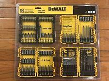 DEWALT 100 Pcs. Screwdriver Drill & Drive Bit Set w/ 4 Cases - BRAND NEW Sealed