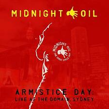 Midnight Oil Armistice Day Live at the Domain Sydney 2 CD DIGIPAK NEW