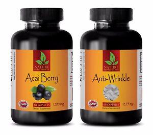 Energy powder - ACAI BERRY - ANTI WRINKLE COMBO 2B - green tea powder