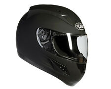 HELMET INTEGRAL approved CE SCOOTER MOTORCYCLE BLACK MATT SIZE S 55/56 CM