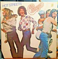 Chicago ~ Hot Streets FC 35512 Vintage Rock Vinyl Record 1978 W/ Peter Cetera