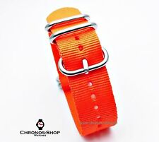 Zulu - Nato Strap orange 22 mm
