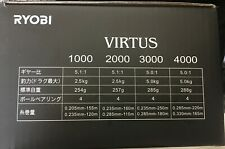 Ryobi Spiritual-DX 500-800 Spinning reel Mulinello su ghiaccio