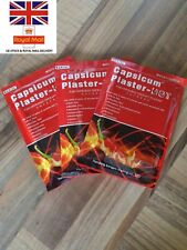Capsicum hot Plaster 3xbags 24xpcs Pain Relieving Patch Muscle Strain Back Pain