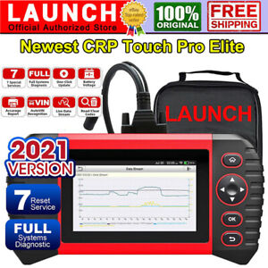 LAUNCH Touch Pro Elite Car OBD2 Scanner Diagnostic Tool EPB SAS BMS ABS Bleeding