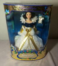 1998 Holiday Princess Barbie Doll WALT DISNEY SNOW WHITE Mint in Box
