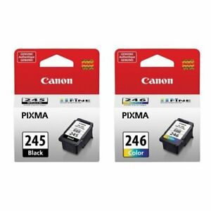 Canon PG-245 and/or CL246 Genuine Ink Cartridge MX490 PIXMA TR4520,TR4522 MG2522