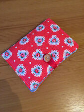 Handcrafted Needle Book Made With Cath Kidston Sweetheart Rose Fabric
