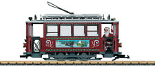 LGB G SCALE CHRISTMAS TROLLEY STARTER SET | SHIPS IN 1 BUSINESS DAY | 72351