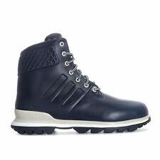 ADIDAS PORSCHE DESIGN Blue Leather Intermediate Boots Shoes UK7 US7.5 EU41 NEW