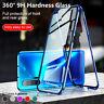 Coque Pour Huawei Honor V30 Pro 20 Lite 10 9X 8X Transparent Verre trempé étui