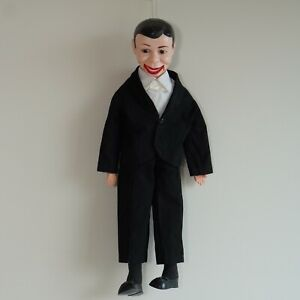 Vintage Ventriloquist Dummy Toy Puppet - Official Retro Product