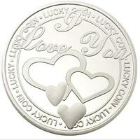 Lucky Wish Love Friendship Thanksgiving Guard Blessing Coin Gift US collectible