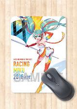 Mouse Pad A5 Size Hatsune Miku Racing 2016 Ver. Part 2 Japan