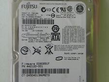 160GB Fujitsu MHW2160BH Laptop SATA Hard Drive P/N CA06820-B41800C1 FW: 0080891F