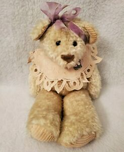 First & Main Inc Multi Color Chantilly Plush Girl Bear