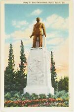 Huey P. Long Monument Baton Rouge Louisiana Postcard b