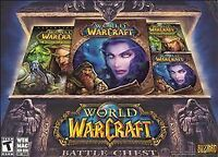 World of Warcraft: Battle Chest (Windows/Mac, 2007) NEW FACTORY SEALED