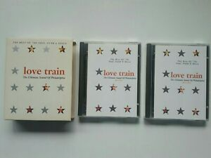 THE BEST OF '70S - LOVE TRAIN - Minidisc Collectible 2x MD Album in VGC