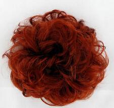 chouchou peruk cheveux cuivré intense ref: 17 en 350
