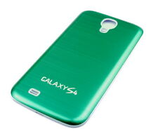 Hülle f Samsung Galaxy S4 i9500 i9505 Alu Aluminium Akku Deckel Case Tasche grün