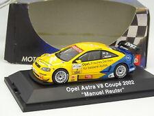 Schuco 1/43 - Opel Astra Coupe V8 Hockenheimring 2002 Reuter