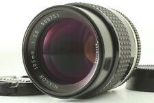 【NEAR MINT】Nikon Ai-s AIS Nikkor 105mm f2.5 MF telephoto Lens From Japan #098